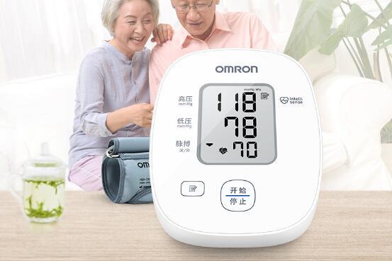 欧姆龙U10上臂式电子血压计,送长辈健康礼品什么好