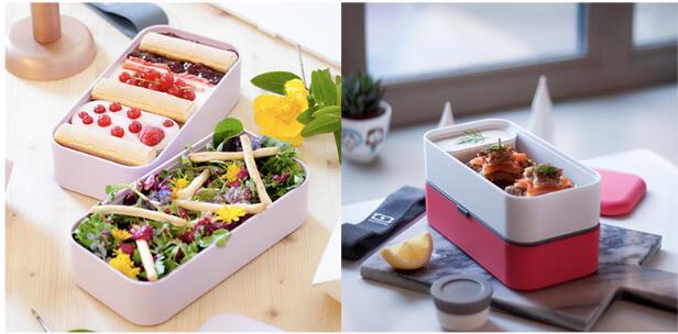 法国Monbento日式印花便当盒,送女友生日礼物