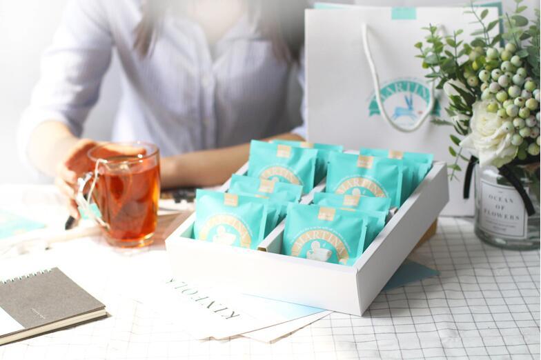 24口味心意袋泡水果茶花茶礼盒,送母亲节什么礼物好呢