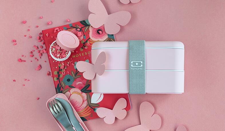 法国Monbento原创双层分格便当盒,送女生颜值实用礼物