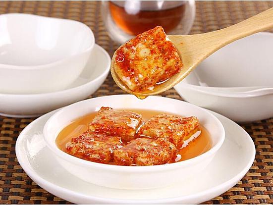 友泉茶油豆腐乳,湖南口味调味经典