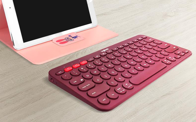 罗技K380无线蓝牙键盘,多功能实用数码礼物