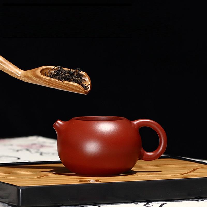 宜兴手工大红袍西施紫砂壶,送朋友实用礼物