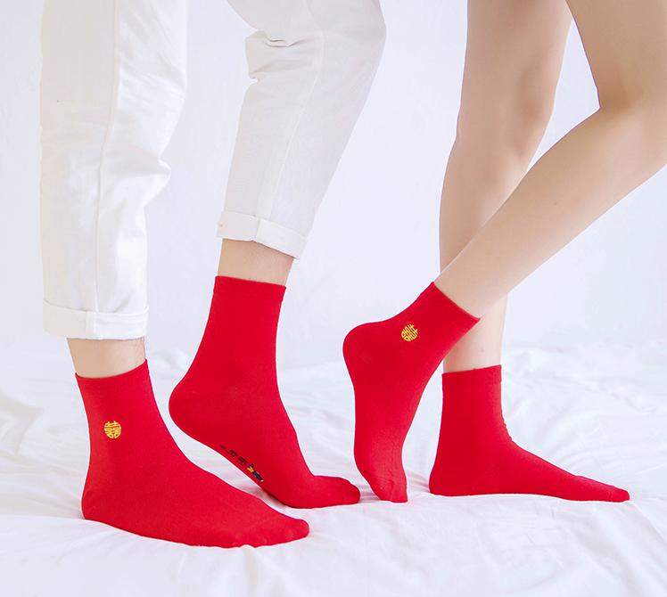 礼盒装本命年红袜6双装,本命年20元礼物