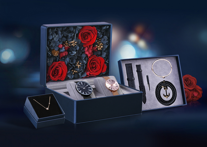 ADEXE英国小众手表情侣表礼盒,情人节礼物提前预定