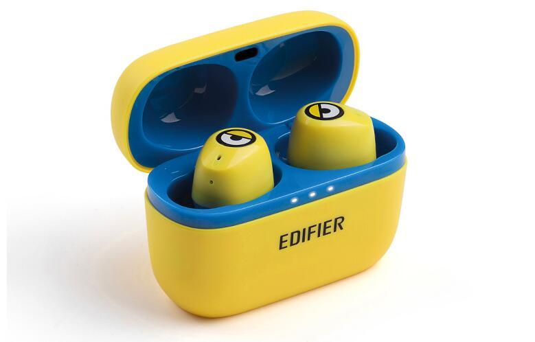 漫步者W3小黄人蓝牙耳机,创意定制礼物