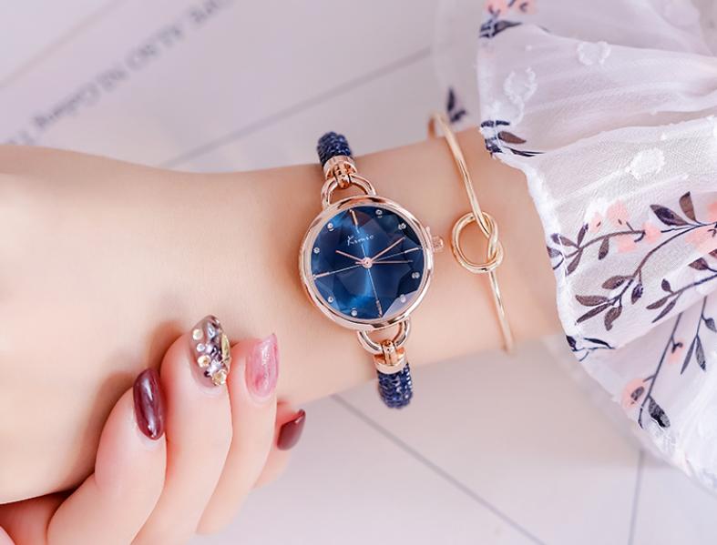 时尚气质女生手表,表白老婆七夕礼物