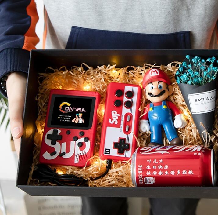 经典复古游戏机礼盒,送男朋友定制生日礼物