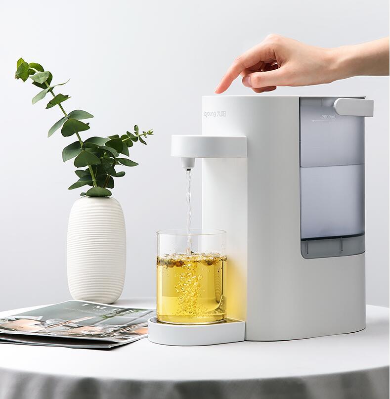 九阳台式小型即热式饮水机,给宝宝冲奶粉方便