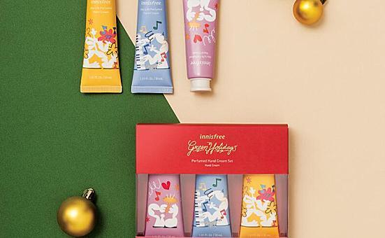悦诗风吟生活香氛护手霜,送朋友圣诞节礼物