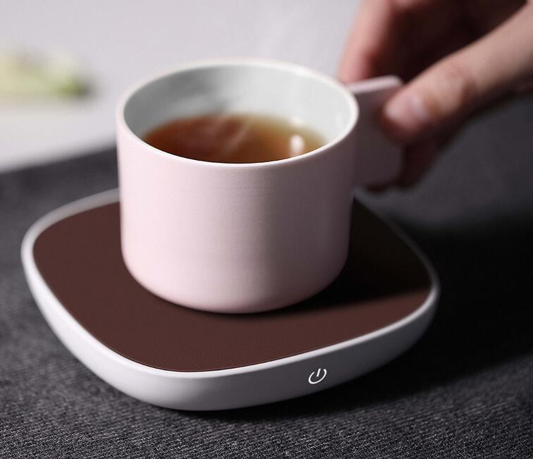 三界茶具小白保温加热底座,11cm更大受热区