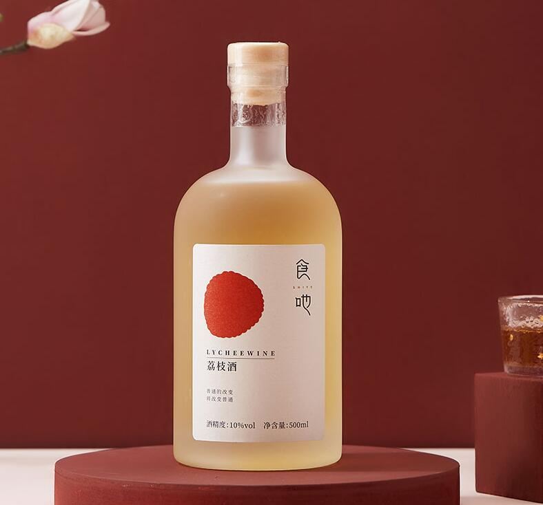 食吔荔枝水果酒荔枝酒,送闺蜜颜值礼物