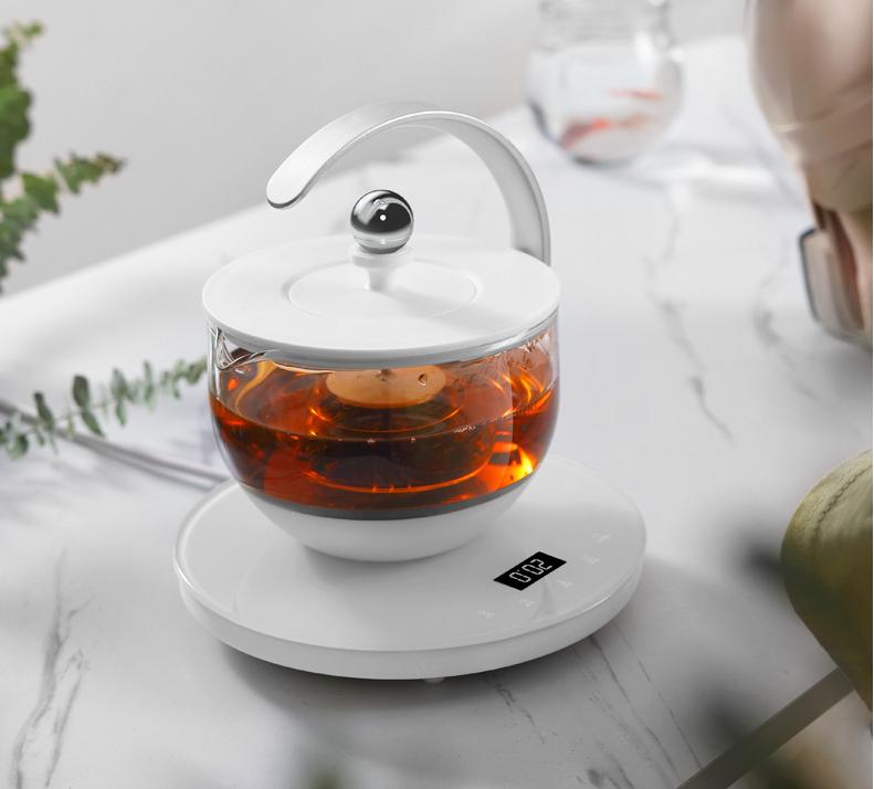 生活元素家用小型煮茶器,满月磁吸分离技术
