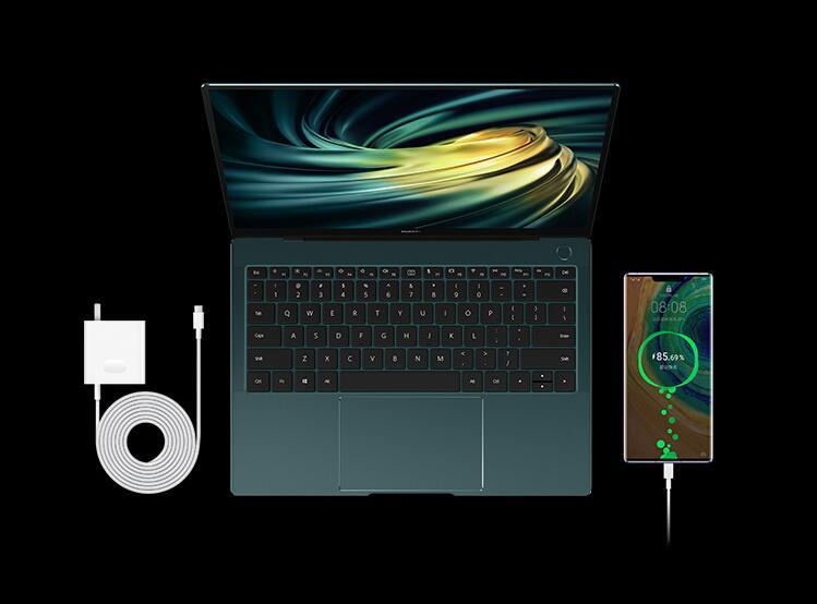 华为MateBook X Pro 2020款,被翡冷翠色惊艳到了