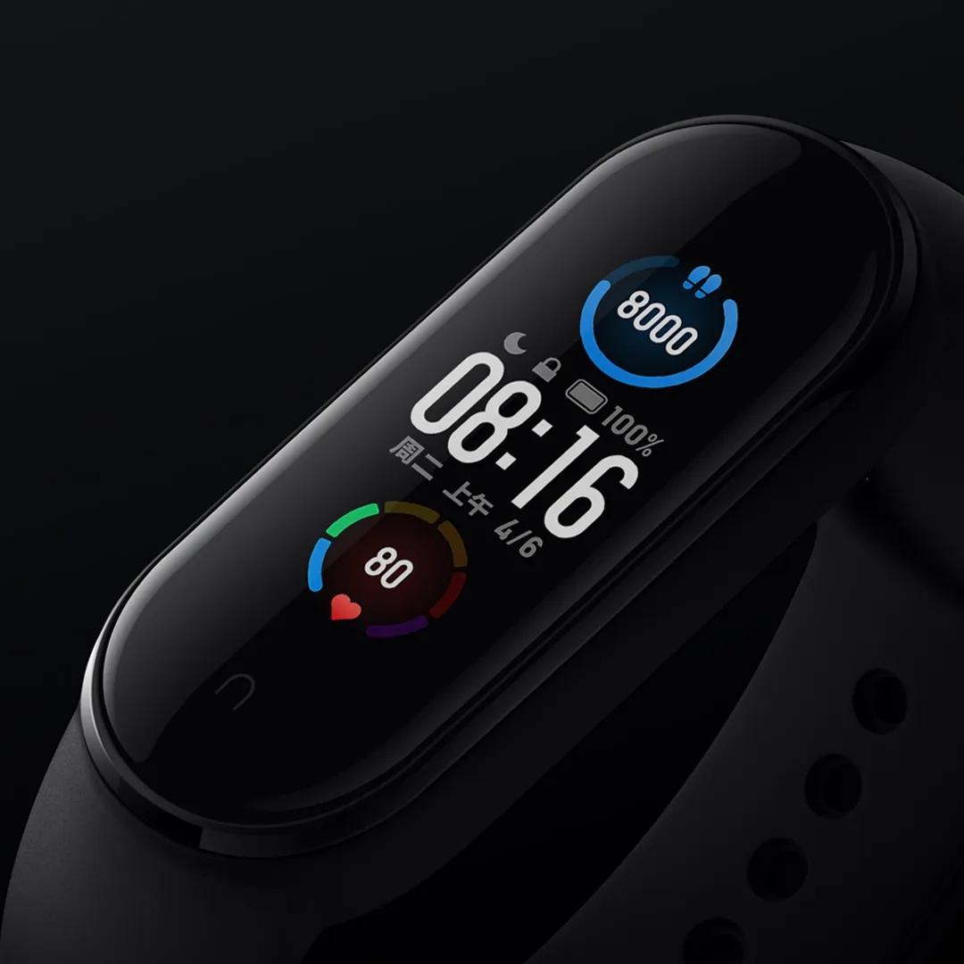 小米手环5发布,大屏幕更专业运动模式