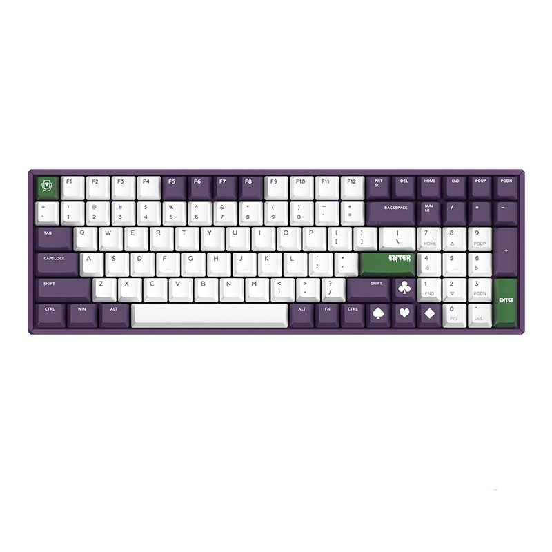 IQUNIX F96-Joker机械键盘,配色手感超好的红轴