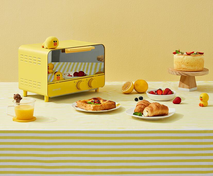 九阳line布朗熊J87电烤箱,送一人食好用礼物