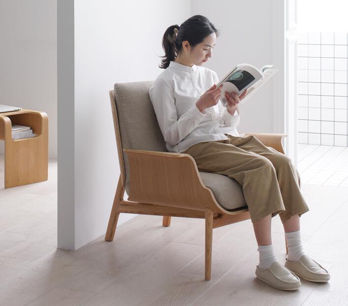 北欧理想国设计师单人沙发椅,舒适家居好物推荐