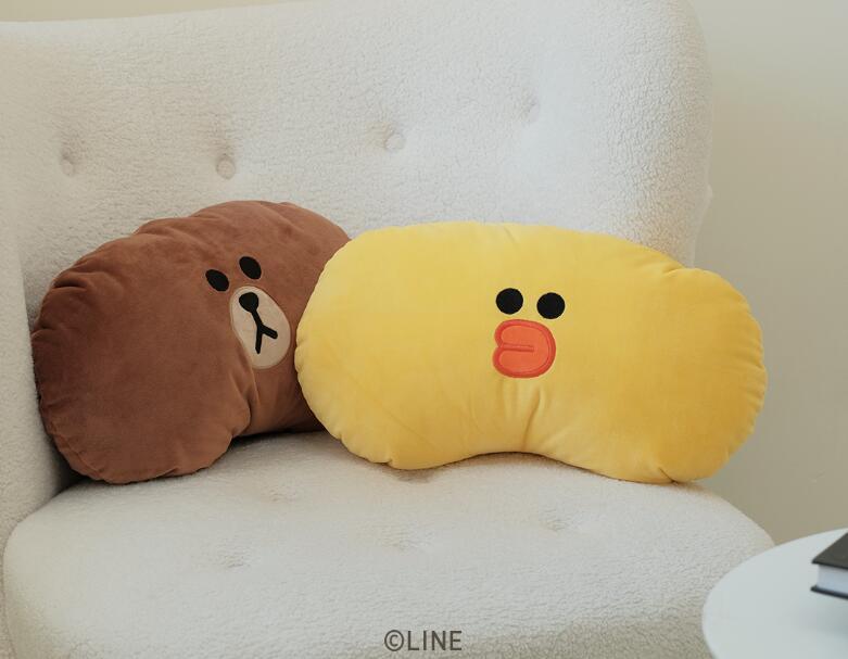 素乐LINE联名热水袋抱枕,送女朋友充电10分钟温暖一整晚
