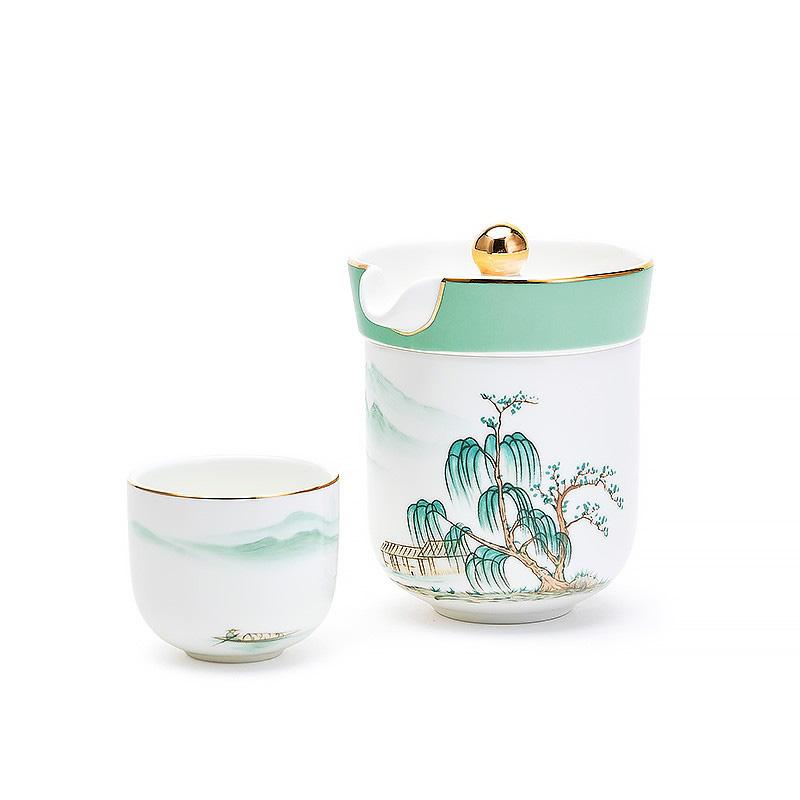 玛戈隆特盛宴远山便携茶具,200元左右送朋友礼物