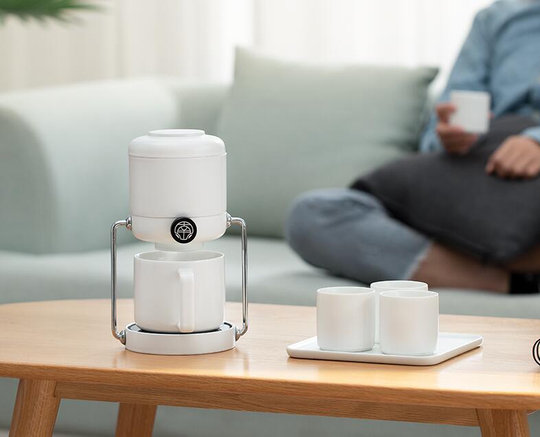 南山先生简泡懒人自动泡茶器,送朋友客户简约实用礼物