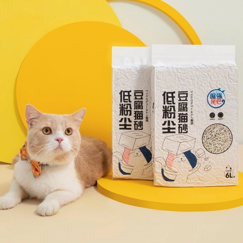 倔强的尾巴猫沙豆腐猫砂,养猫朋友实用礼物推荐