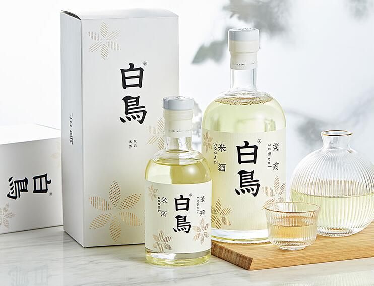 白鸟花果系列米酒礼盒,200元左右低度微醺柔和礼物