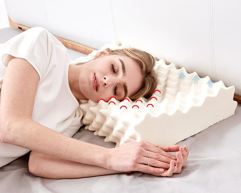 睡眠博士泰国天然乳胶枕,90%含量橡胶防螨,送妈妈实用礼物推荐